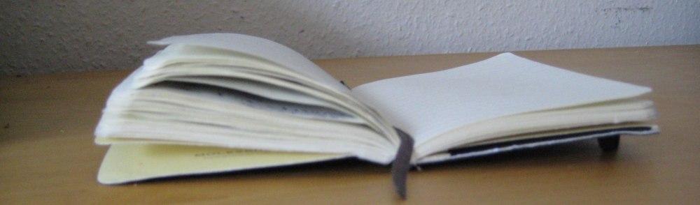 Notizbuch © Foto: Linda Könnecke