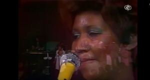 Aretha Franklin Konzert Paris 1977 Screenshot Youtube